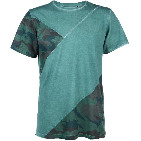 Herren Shirt in Washeroptik