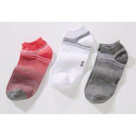 Damen Sommer Sneaker Socken im 3er Pack
