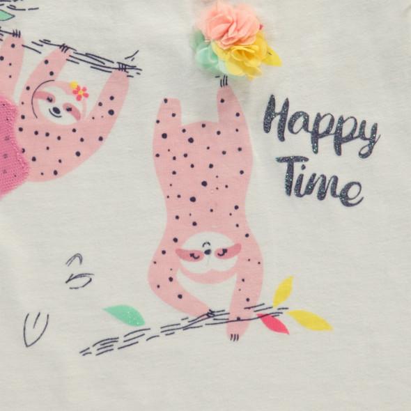 Baby Mädchen Longtop mit Print