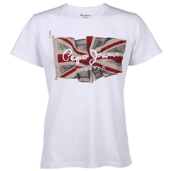 Herren Pepe Shirt FLAG LOGO