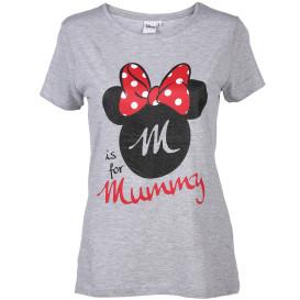 Damen Shirt mit Minnie Mouse Print