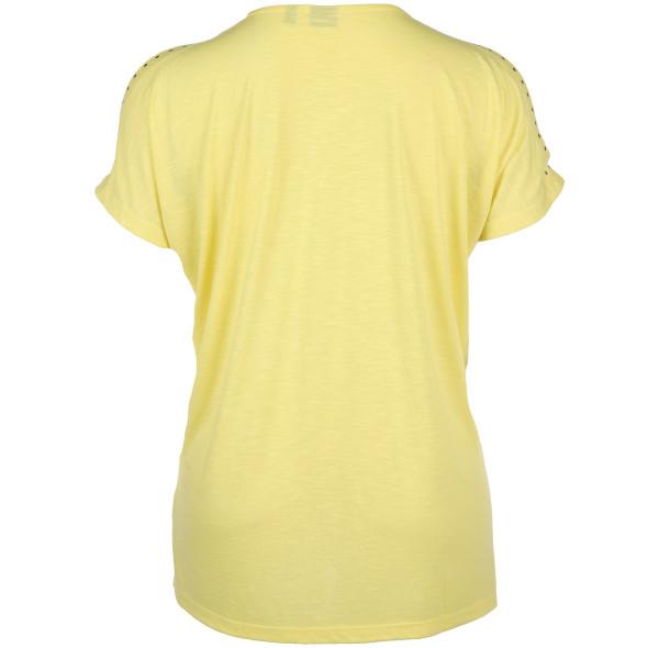 Große Größen Shirt mit Schulter Cut-Outs