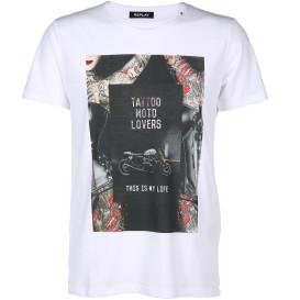 Herren Shirt mit Front Print