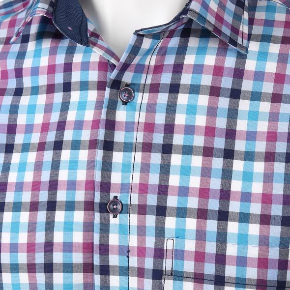 Herren Freizeithemd mit Brusttasche