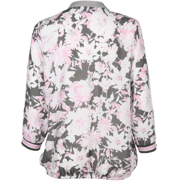 Damen Schlupfbluse im Blumenprint