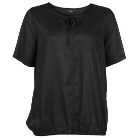 Große Größen Bluse mit elastischem Gummisaum