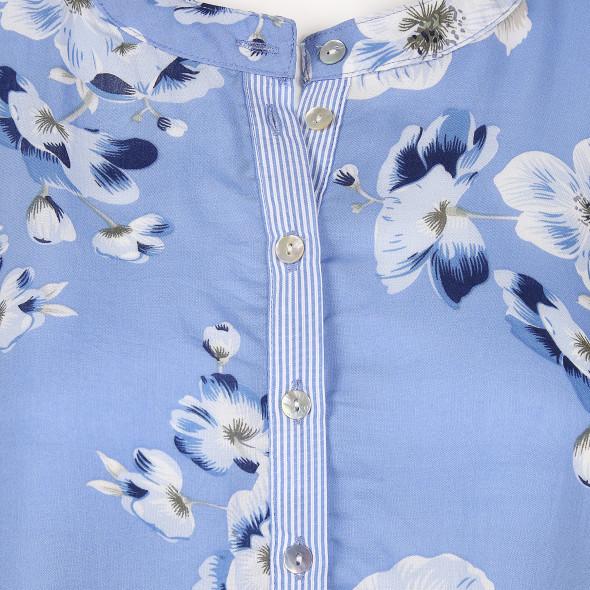 Damen Schlupfbluse im floralen Print
