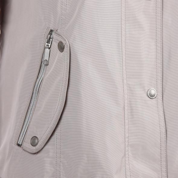 Damen Jacke mit abnehmbarer Kapuze und Stehkragen