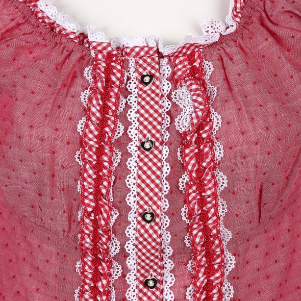 Damen Trachtenbluse in hübschen Design