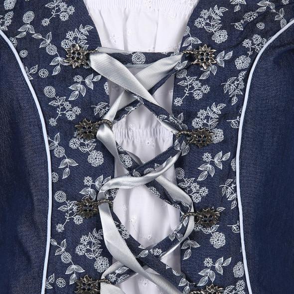 Damen Blusenshirt mit Schnürung