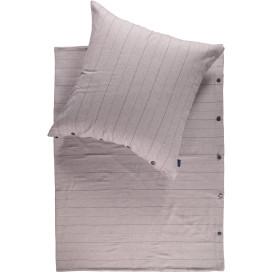 Biberbettwäsche im Streifenlook 135x200cm
