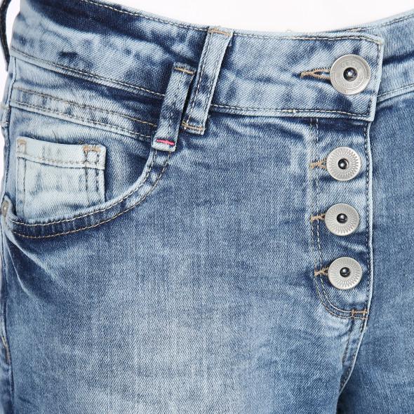 Damen Jeans mit Knöpfen