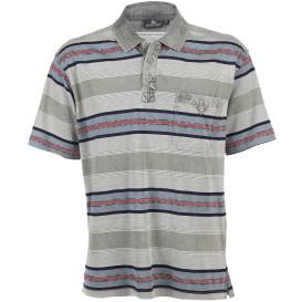 Herren Poloshirt mit kurzer Knopfleiste