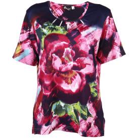 Damen Shirt mit Strassbesatz