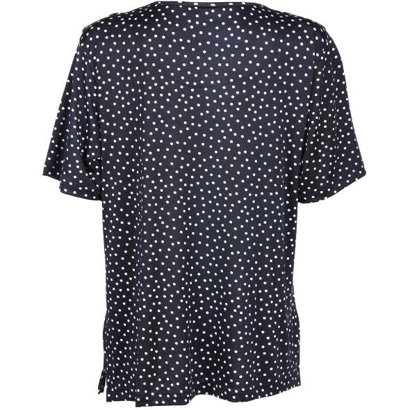 Damen Shirt mit Tupfen