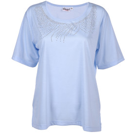 Damen Shirt mit Glitzernieten