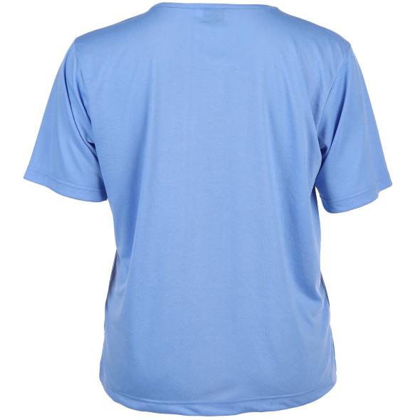 Große Größen Shirt mit Glitzersteinchen