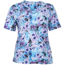 Große Größen Shirt mit Blumen