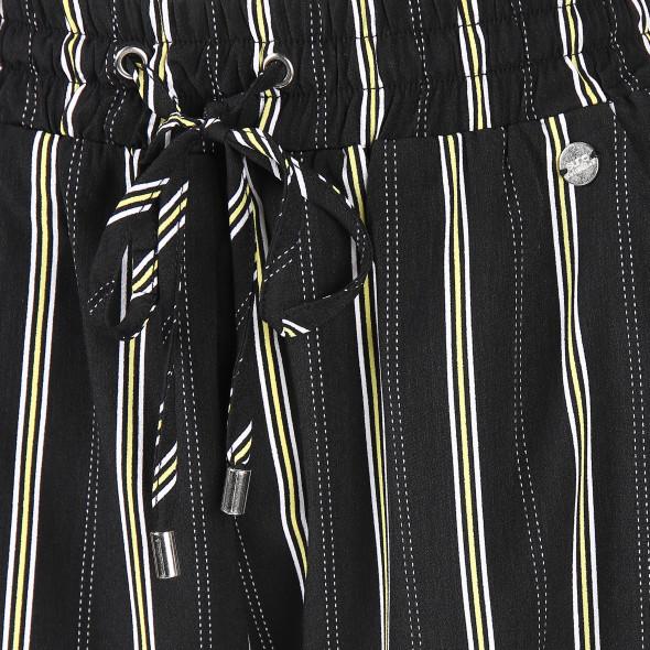 Damen Schlupfhose mit Streifenprint