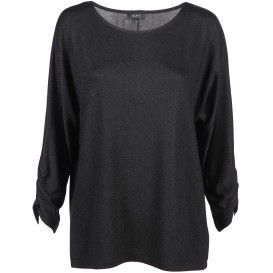 Damen Shirt mit Glitzer Effekt