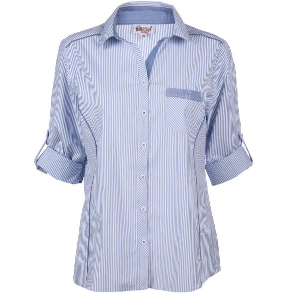 Damen Bluse mit kleiner Paillettentasche