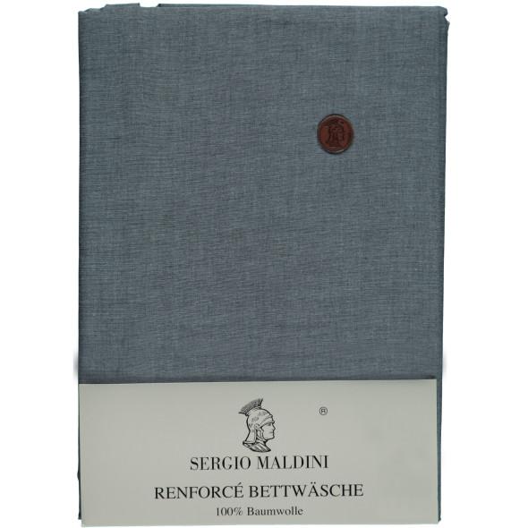 Renforcé Bettwäsche im Jeansdessin 155x220cm