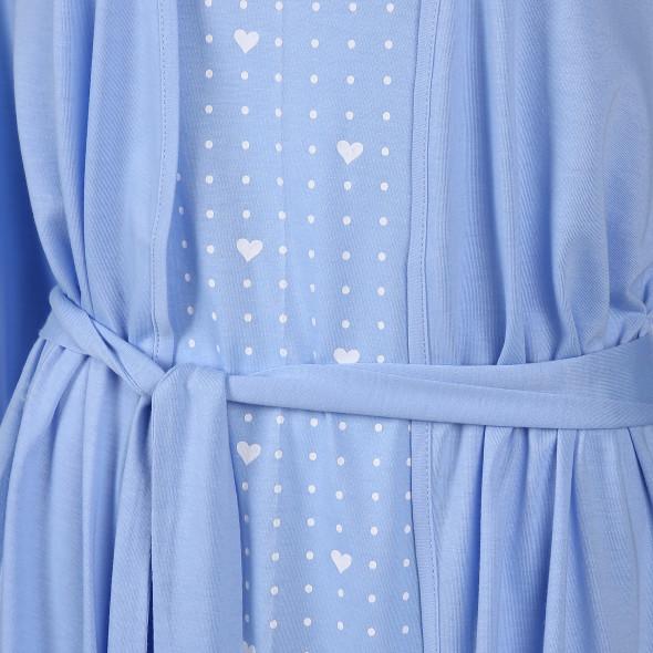 Damen 2er Set bestehend aus Nachthemd und Morgenmantel