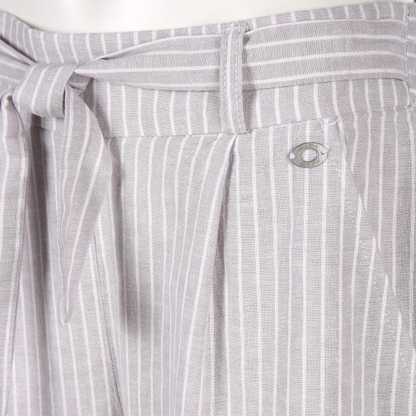Damen Culotte Hose mit Streifen