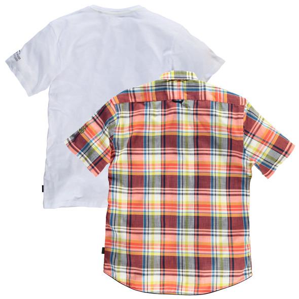 Herren Set, bestehend aus Hemd und Shirt