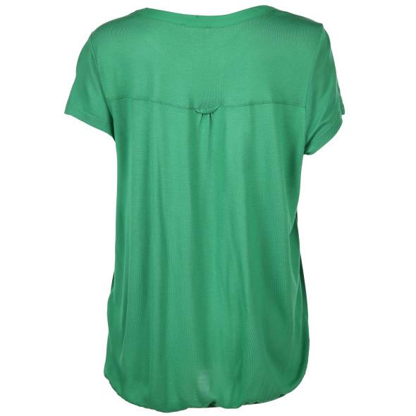 Damen Shirt mit Serafino Ausschnitt