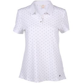 Damen Poloshirt mit Punkten