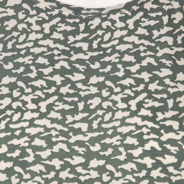 Vero Moda VMAVA PLAIN SS TOP AO Shirt mit Muster