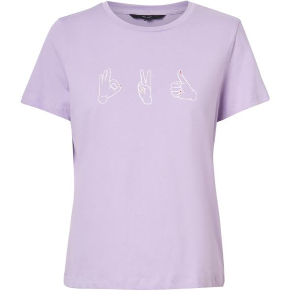 Vero Moda VMMAGIC OLLY SS TOP B Shirt