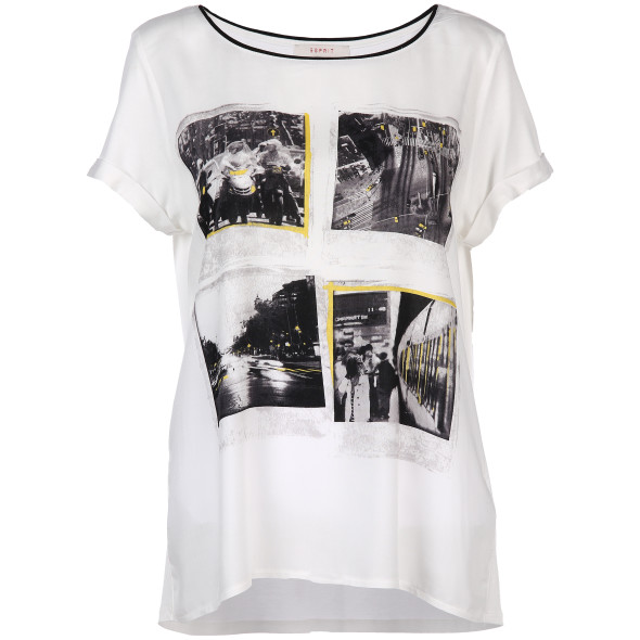 Damen Blusenshirt mit Fotoprint