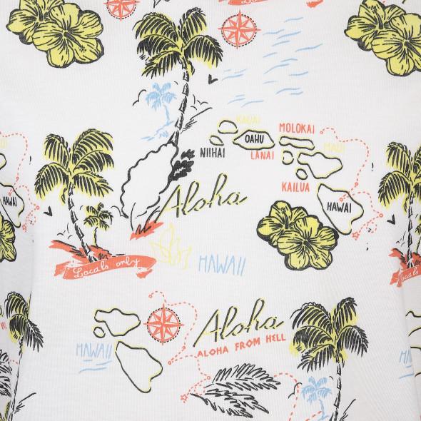 Herren Jack&Jones Shirt mit Allover Print