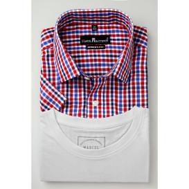 Herren Hemden Set, best. aus Hemd und Shirt