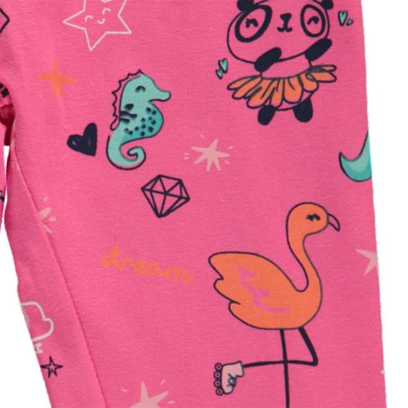 Mädchen Leggings mit Print