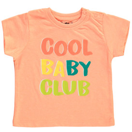 Baby Shirt mit Wording Print