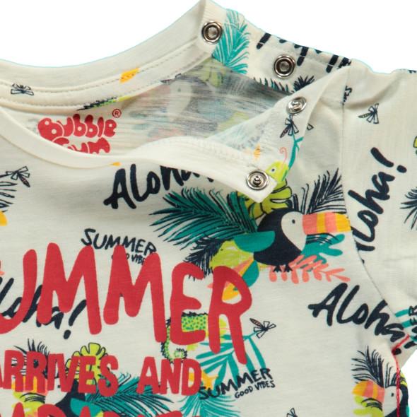 Baby Shirt mit Allover Print