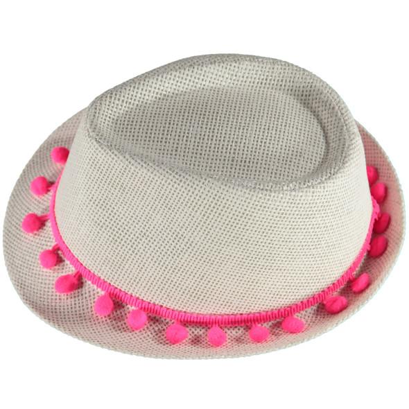 Damen Hut mit Quastenband 58cm