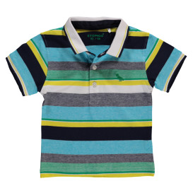 Jungen Poloshirt mit Streifen