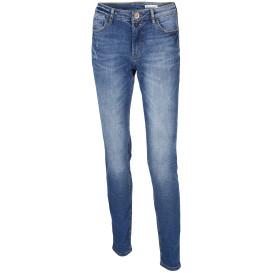 Damen Jeans mit Used Effekten