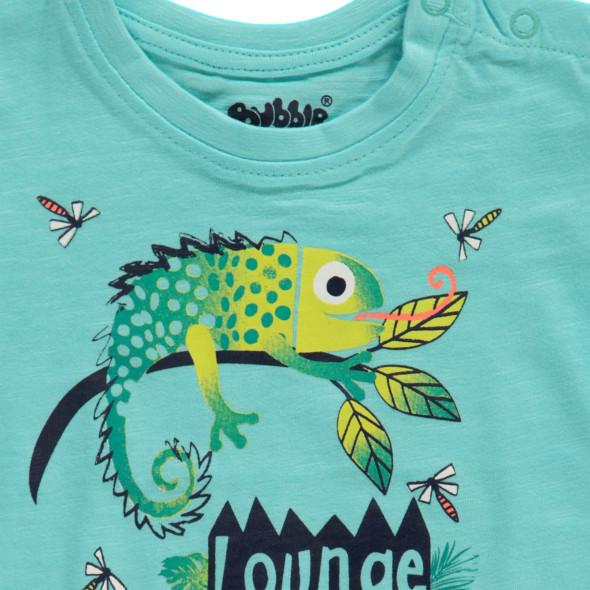 Baby Shirt mit Kameleon Print