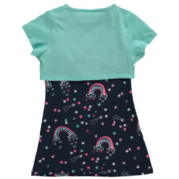 Mädchen 2er Set bestehend aus Kleid und Shirt