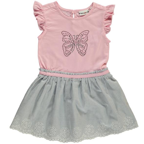 Mädchen Kleid mit vielen Details