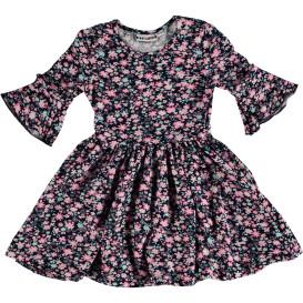 Mädchen Kleid mit Blumenprint