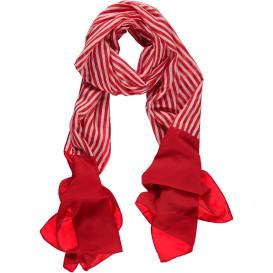 Damen Schal mit Streifenmuster