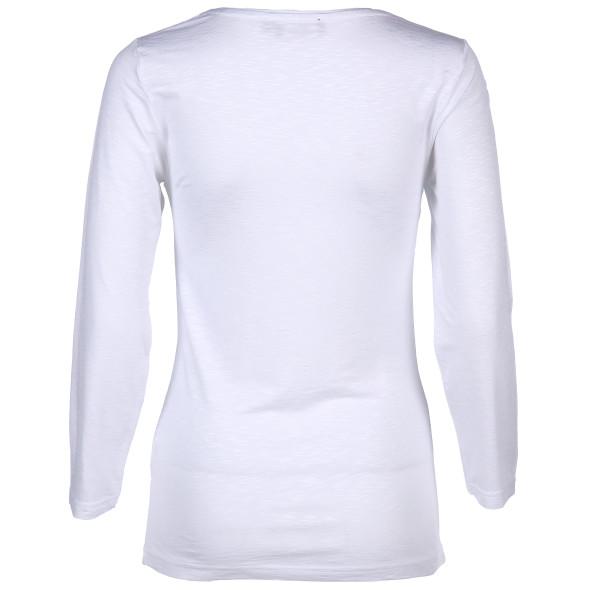 Damen Langarmshirt mit Frontprint