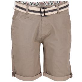 Herren Chino Shorts mit Flechtgürtel