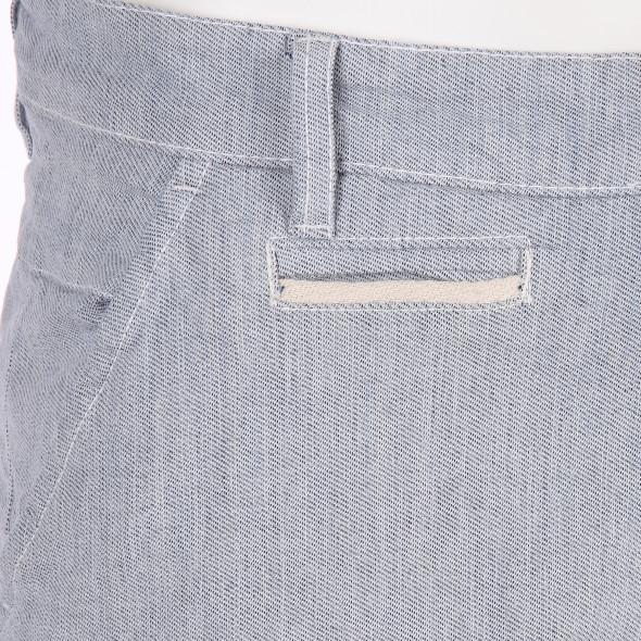 Herren Chino Shorts im Denim Style
